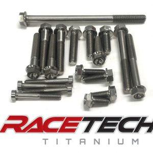 Titanium Ignition Side Bolts (2011-14 KTM 350SXF)