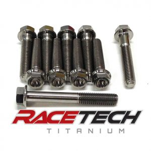 Titanium Right Side Case Bolts (2014 KTM SX 85)