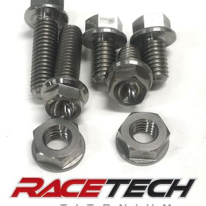 Titanium Rectifier/Regulator Bolts (2014-18 Honda CRF450)
