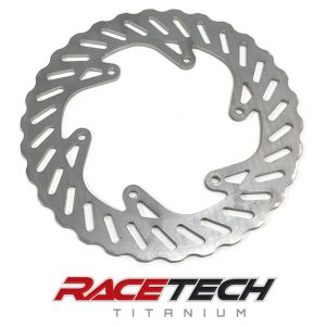 Titanium Rear Brake Rotor - 2015-18 KTM 450-SXF Factory Edition