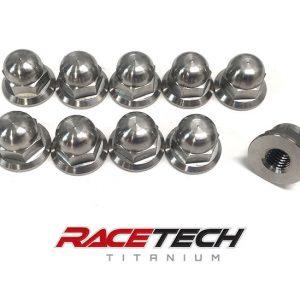 Yamaha Banshee Titanium Cylinder Head Nuts (Acorn Nuts)