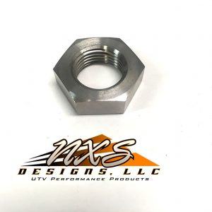 Titanium Ball Joint Nut for NXS Long Travel Suspension
