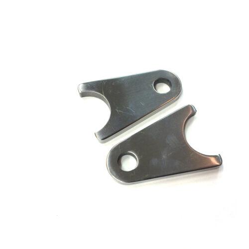 Titanium Shock Tabs (Swingarm tabs)