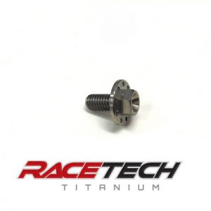 Titanium M6x12 Hex Head (Dimpled) Flange Bolt
