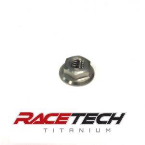 Titanium M5x0.8 Flange Nut