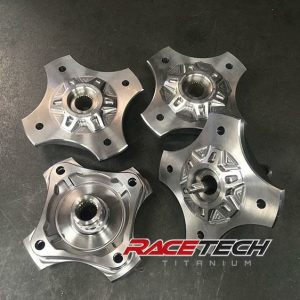 Billet Titanium Hubs for XP1000 & Turbo