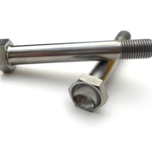 """Titanium 3/8 x 2-5/8"""" Bolt, Drag Racing Control Arm Bolt"""