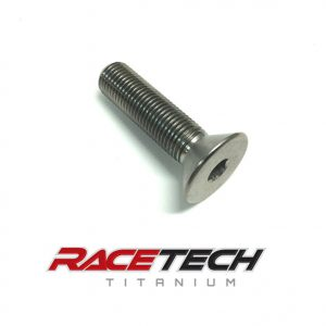 "Titanium 3/8-24 x 1.5"" Flat Head (Countersink) Bolt"