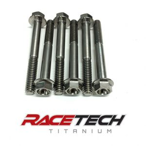 Titanium Primary Clutch Outer Hat Bolts (XP1000 Stock Clutch)