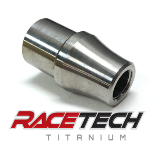 Titanium 1/2-20 Threaded Tube Adapter (RH)