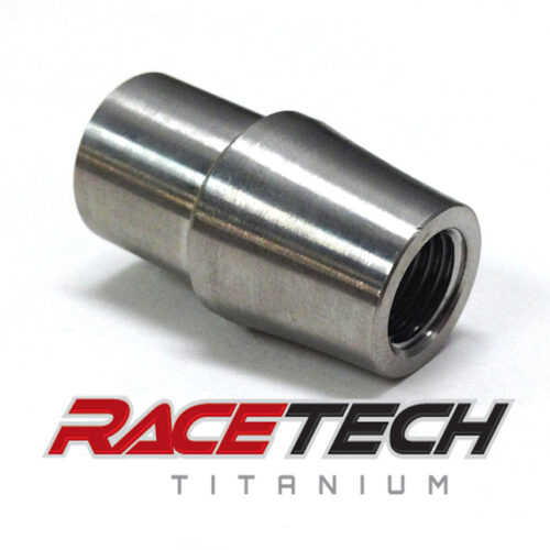 Titanium 7/16-20 Threaded Tube Adapter (RH)