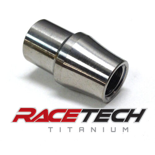 "Titanium 3/8"" Threaded Tube Adapter (RH)"