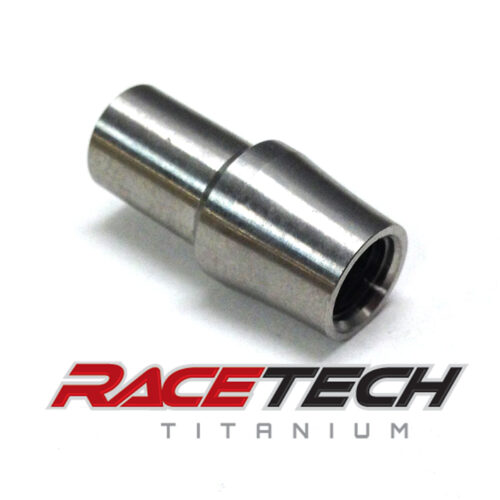 Titanium 1/4-28 Threaded Tube Adapter (RH)