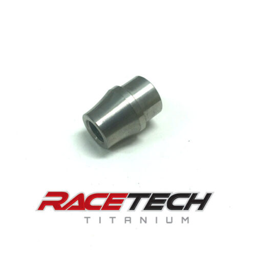 "Titanium 3/8-24 RH Tube Adapter (3/4"" x .055 tube)"