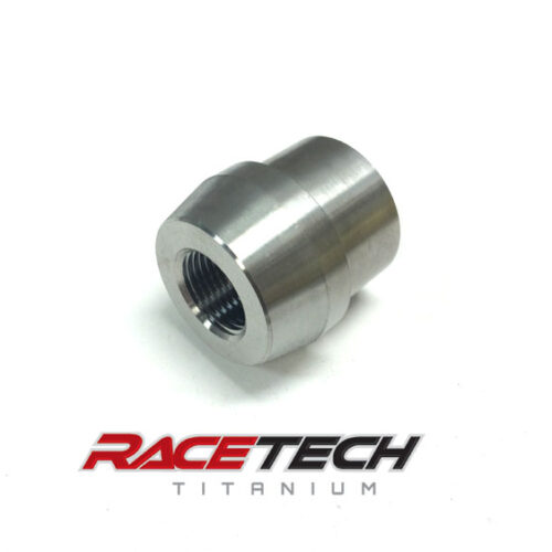 "Titanium 3/4-16 Tube Adapter (1.5"" x .085 tube)"
