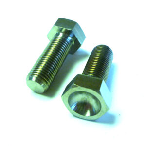 "Titanium 3/8-24 x 1"" Hex Head Bolt"