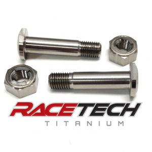 Titanium Shock Mount Bolts (2002 Honda CR125)