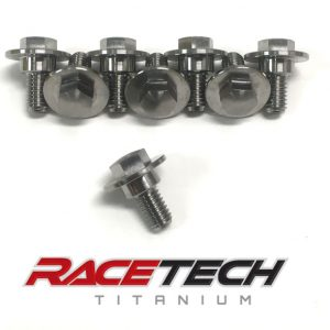 Titanium Shrouds & Side Panel Bolts (2016-18 KX 250 450)