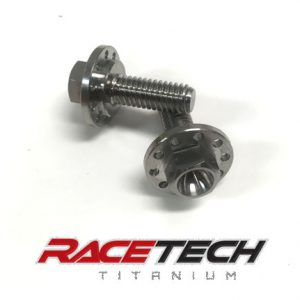 Titanium Shrouds & Top Fuel Tank Bolts (2016-18 KX 250 450)