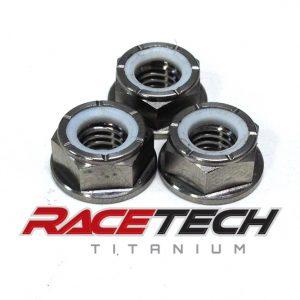Titanium Brake Rotor Nuts (2006 Suzuki RM 85)