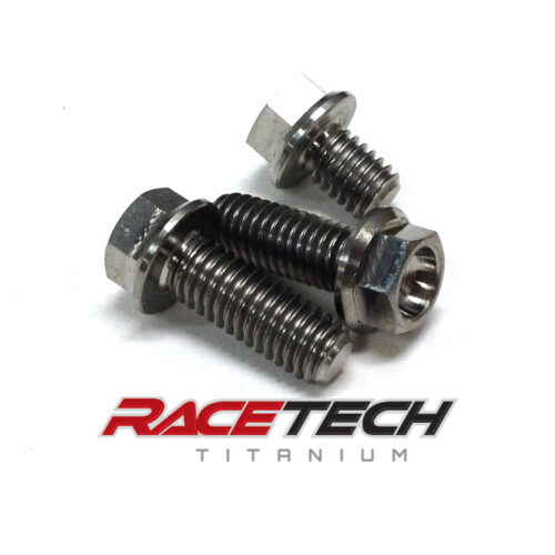 Titanium Air Box Bolts (2013-14 Kawasaki KX85)