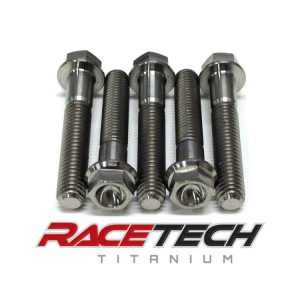 Titanium Center Case Bolts (2013-14 Kawasaki KX85)