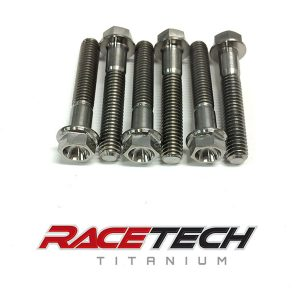 Titanium Primary Clutch Outer Hat Bolts (XPT Stock Clutch)