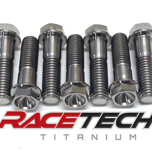 Titanium Triple Clamp & Steering Stem Pinch Bolts(2012 KTM SX50)