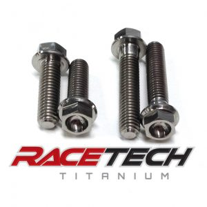 Titanium Waterpump Bolts (2006 Suzuki RM 85)