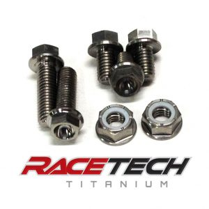Titanium Rectifier/Regulator Bolts (2010-13 Honda CRF 250 450)