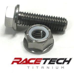 Titanium Swivel Head Bolt & Nut (2011-14 KTM 350SXF)