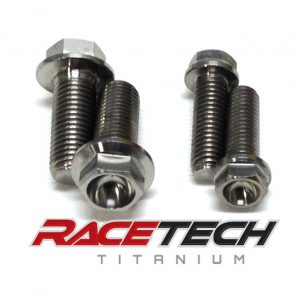 Titanium Lower Sub Frame Bolts (10-13 Honda CRF 250 450)