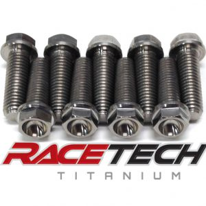 Titanium Axle Pinch,Handle Bar & Stem Pinch Bolts(2015 XC300)
