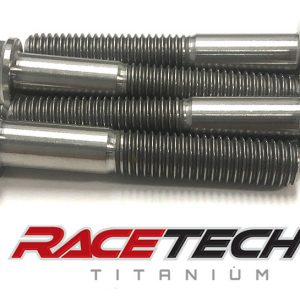Titanium Triple Clamp Bolts Bottom (2015-18 KTM 450SXF)