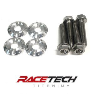 Titanium Radiator Bolts & Washers (2011-13 KX 250 450)