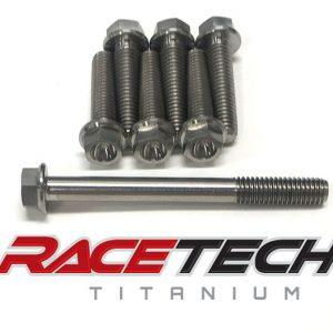Titanium Clutch Cover Bolts (2011-13 KX 250 450)