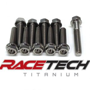 Titanium Right Side Case Bolts (2006 Suzuki RM 85)