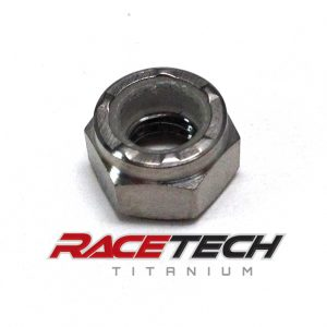 Titanium M5x0.8 Nylock Nut (Locking)