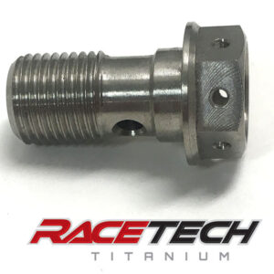 Titanium Rear Brake Banjo Bolt (2015-18 KTM 450SXF)
