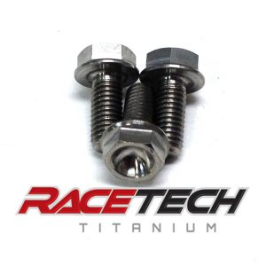 Titanium Power Valve Cover Bolts (2014 KTM SX 85)