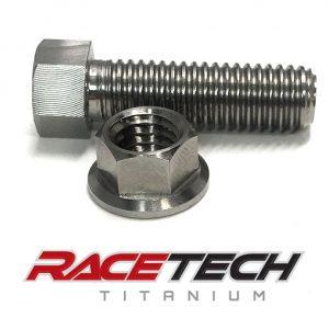Titanium Brake Lever Stop Bolt & Nut (2011-14 KTM 350SXF)