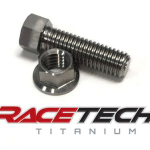 Titanium Brake Pedal Adjuster Bolt (2014-15 KTM SX 65)