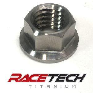 Titanium Rim Lock Nut (2014-18 Honda CRF450)