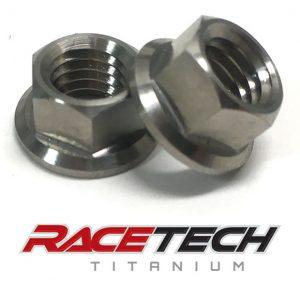 Titanium Rim Lock Nuts (2014-18 YZ 250 450)