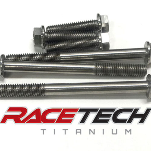 Titanium Clutch Cover Bolts (2010-18 Suzuki RMZ 450)