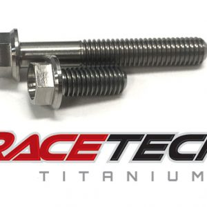 Titanium Oil Filter Cover Bolts (Suzuki RMZ 250 450)