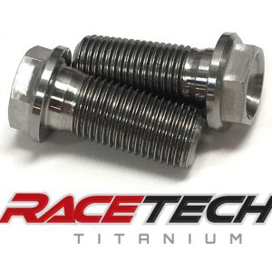 Titanium Upper Foot Peg Mount Bolts (2014-18 Honda CRF450)