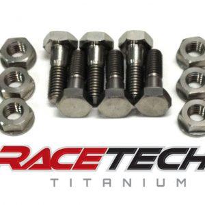 Titanium Rotor Bolts (10-13 Honda CRF 250 450)