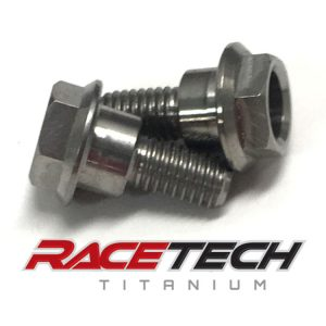 Titanium Brake Line Pirch Bolts (2014-18 Honda CRF450)