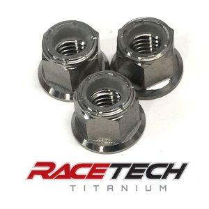 Titanium Top Engine Mount Nuts (2011-14 KTM 250SXF)